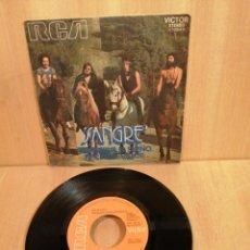 Discos de vinilo: SANGRE. CONSERVA EL SUEÑO. NECESITO VALOR. 1971.. Lote 207008041