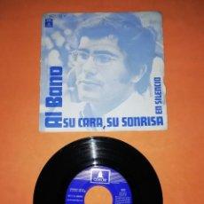 Discos de vinilo: AL BANO. SU CARA, SU SONRISA. EN SILENCIO. ODEON RECORDS 1970. Lote 207009231
