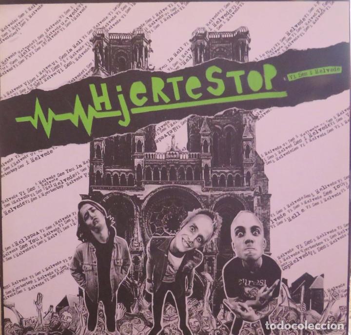 HJERTESTOP VI SES I HELVEDE HJERNESPIND 2008 (Música - Discos - LP Vinilo - Punk - Hard Core)