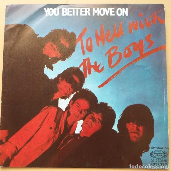 THE BOYS - YOU BETTER MOVE ON (SG) 1980 (Música - Discos - Singles Vinilo - Punk - Hard Core)