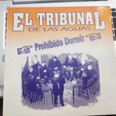 """Discos de vinilo: EL TRIBUNAL DE LAS AGUAS - PROHIBIDO DORMIR (12"""") 1992.SELLO:TOMA TOMA RECORDS TT-021. COMO NUEVO. Lote 207011452"""