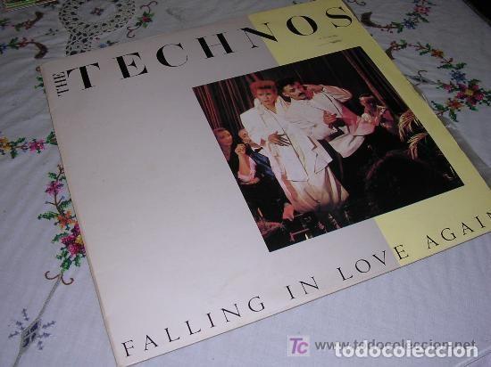 THE TECHNOS FALLING IN LOVE AGAIN (Música - Discos de Vinilo - Maxi Singles - Pop - Rock Extranjero de los 70)