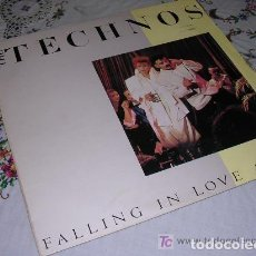 Discos de vinilo: THE TECHNOS FALLING IN LOVE AGAIN. Lote 207012941