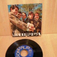 Discos de vinilo: LOS BETA. INCENDIO EN RÍO, PAMELA, ETC. EP. 1967.. Lote 207014195