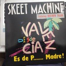 """Discos de vinilo: SKEET MACHINE FEATURING MATTHEW TALLON - ES DE P... MADRE! (12"""", MAXI)1991MAX NM532MA.COMO NUEVO. Lote 207014493"""