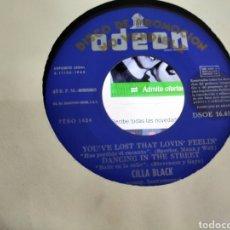Discos de vinilo: CILLA BLACK EP PROMOCIONAL IS IT LOVE / YOU'VE LOST THAT LOVIN' FEELIN' + 2 ESPAÑA 1965. Lote 207014575
