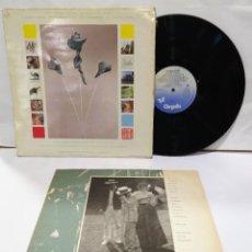 Discos de vinilo: THE ART OF NOISE  IN VISIBLE SILENCE, ENCARTE LP 1986. Lote 207016456