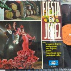 Discos de vinilo: FIESTA EN JEREZ LP 1970. Lote 207016697