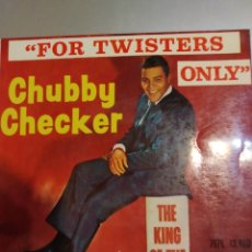 Discos de vinilo: CHUBBY CHECKER. FOR TWISTERS. EP. Lote 207018905