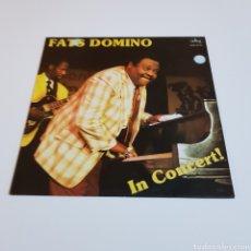 Discos de vinilo: FATS DOMINO IN CONCERT - LP. Lote 207019092