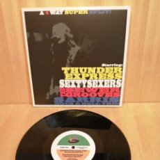 Discos de vinilo: THUNDER EXPRESS. SEXTYSEXERS. THE SEWER GROOVES. SARRIS R&R TRIO. 10'''. 2008.. Lote 207021727
