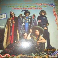 Discos de vinilo: COUNTRY JOE AND THE FISH - I FEEL LIKE I¨M FIXIN TO DIE LP - ORIGINAL U.S.A. VANGUARD 1967 STEREO. Lote 207023606