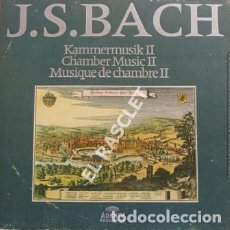 Disques de vinyle: MAGNIFICO ALBUM CON 7 LPS - J.S.BACH - KAMMERMUDIK II - CHAMBER MUSIC II- MUSIQUE DE CHAMBRE II. Lote 207023682