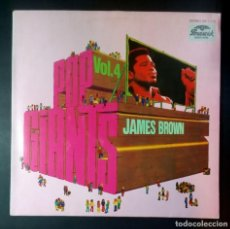 Discos de vinilo: JAMES BROWN - POP GIANTS VOL4 - LP ALEMAN - BRUNSWICK. Lote 207024476