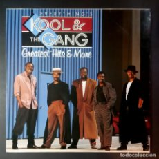 Discos de vinilo: KOOL & THE GANG - GREATEST HITS & MORE - LP ALEMAN CON ENCARTE 1988 - METRONOME. Lote 207025417