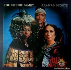 Discos de vinilo: THE RITCHIE FAMILY - ARABIAN NIGHT - LP ESPAÑOL 1976 - RCA. Lote 207026020