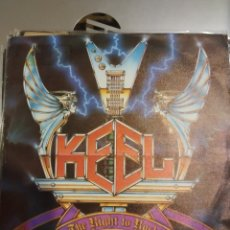 Discos de vinilo: KEEL. THE RIGHT TO ROCK.. Lote 207026137