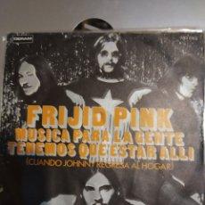 Discos de vinilo: FRIJID PINK. MÚSICA PARA LA GENTE.. Lote 207026911