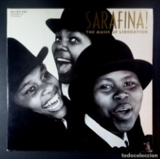 Discos de vinilo: VARIOS - SARAFINA! (THE MUSIC OF LIBERATION ) LP ALEMAN 1988 GATEFOLD - RCA. Lote 207027362