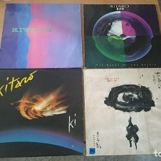 Discos de vinilo: 4 LP VINILO KITARO TEN YEARS KI KOJIKI LIGHT OF THE SPIRIT GERMANY CANADA. Lote 207028891