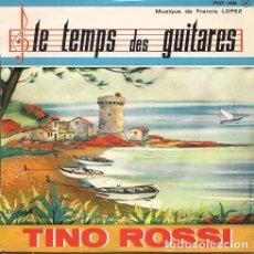 """Discos de vinilo: TINO ROSSI (""""LE TEMPS DE GUITARES"""" Y TRES MÁS). Lote 207029635"""