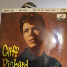 Discos de vinilo: CLIFF RICHARD. WHAT'D I SAY.. Lote 207029775