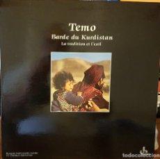 Discos de vinilo: TEMO BARDE DU KURDISTAN - LA TRADITION ET L´EXIL - MADE IN FRANCE - CARPETA ABIERTA. Lote 207031531