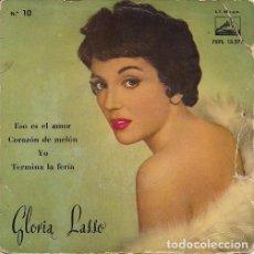 """Discos de vinilo: GLORIA LASSO (""""ESO ES EL AMOR"""" Y TRES MÁS) EP 1959. Lote 207031777"""