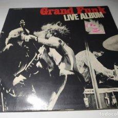 Discos de vinilo: LP - GRAND FUNK – LIVE ALBUM - 1C 172-80 684/85 - 2 LP - CARPETA (VG+ / VG+ ) EURO. Lote 207032213