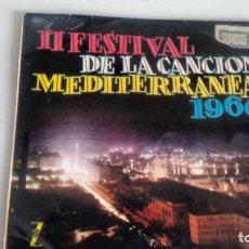 Discos de vinilo: E.P. ( VINILO) DE EL II FESTIVAL DE LA CANCION MEDITERRANEA LOS IRUÑAKO-CARLITOS ROMANO ..... Lote 207032406