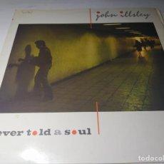 Discos de vinilo: LP - JOHN ILLSLEY – NEVER TOLD A SOUL - 822 239-1 (VG+ / VG ) SPAIN 1985. Lote 207035428