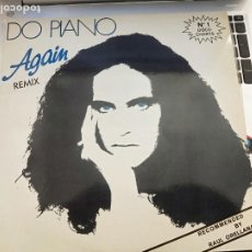 "Discos de vinilo: DO PIANO - AGAIN (REMIX) (12"") 1986, SELLO:BLANCO Y NEGRO CAT. Nº: MX - 154. COMO NUEVO. Lote 207038336"