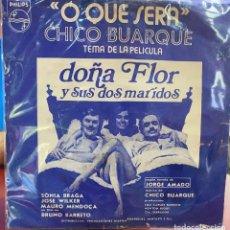 Discos de vinilo: SENCILLO ARGENTINO DE CHICO BUARQUE AÑO 1978. Lote 207040070
