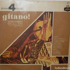 Discos de vinilo: LP ARGENTINO DE WERNER MULLER Y SU ORQUESTA AÑO 1966 OTRA REEDICIÓN. Lote 207041788