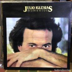 Discos de vinilo: LP ARGENTINO DE JULIO IGLESIAS AÑO 1982 PORTADA CARPETA. Lote 207041842