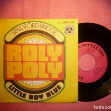 "Discos de vinilo: 7"" STAMFORD BRIDGE - ROLY POLY - 1970 - SINGLE - GERMANY PRESS - PENNY FARTHING (EX+/EX-). Lote 207041987"