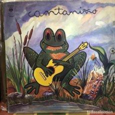Discos de vinilo: LP ARGENTINO DE ARTISTAS VARIOS CANTANIÑO AÑO 1977. Lote 207042533