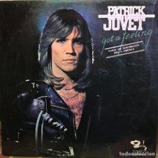 Discos de vinilo: LP ARGENTINO DE PATRICK JUVET AÑO 1978. Lote 207042686