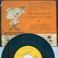 Discos de vinilo: NUMULITE * DISCO SORPRESA FUNDADOR TWIST THE YOUNG ONES HEY LITTLE GIRL .... Lote 207045403