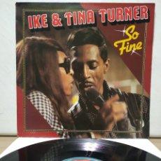 Discos de vinilo: IKE & TINA TURNER - SO FINE 197X ( 1968 ) ED ALEMANA. Lote 207046533