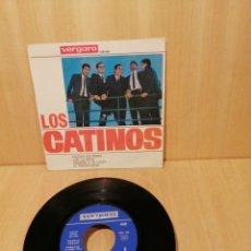 Discos de vinilo: LOS CATINOS. CIUDAD SOLITARIA, CAE LA NIEVE, ETC EP 1964.. Lote 207051448
