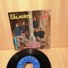 Discos de vinilo: ELS CALAFATS. CANTEN A MALLORCA. EP 1966.. Lote 207051798