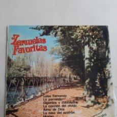 Discos de vinilo: ZARZUELAS FAVORITAS. Lote 207056208