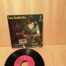 Discos de vinilo: LOS IRUÑAKO. LA PALOMA TWIST, GONDOLI GONDOLA, ETC EP 1962.. Lote 207056213