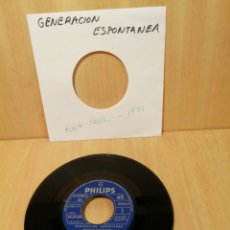 Discos de vinil: GENERACIÓN ESPONTANEA. POR QUE TE HAS IDO?, NOCHE DE VERANO. 1971. SOLO DISCO.. Lote 207058475