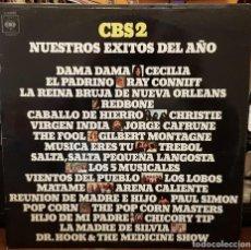 Discos de vinilo: CBS 2 NESTROS EXITOS DEL AÑO. Lote 207064308