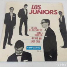 Discos de vinilo: SINGLE/LOS JUNIORS/LA CASA DEL SOL NACIENTE.. Lote 207064435