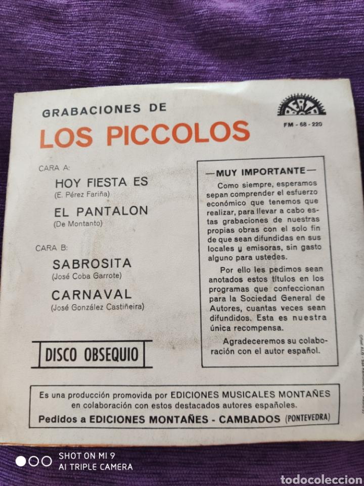 Discos de vinilo: SINGLE, LOS PICCOLOS, MUY ESCASO, PERFECTO - Foto 3 - 207069455