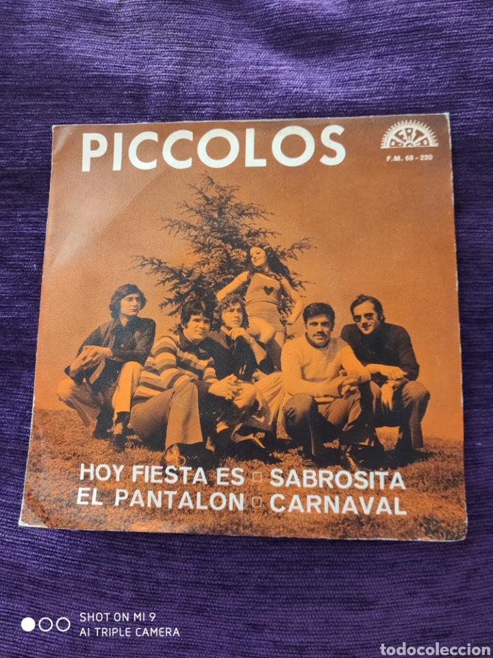 SINGLE, LOS PICCOLOS, MUY ESCASO, PERFECTO (Música - Discos - Singles Vinilo - Grupos Españoles 50 y 60)