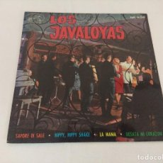 Discos de vinilo: SINGLE/LOS JAVALOYAS/SAPORE DI SALE.. Lote 207073401